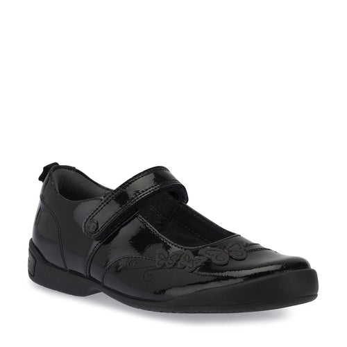 Start-rite PUMP Girl's Black Patent School Shoe