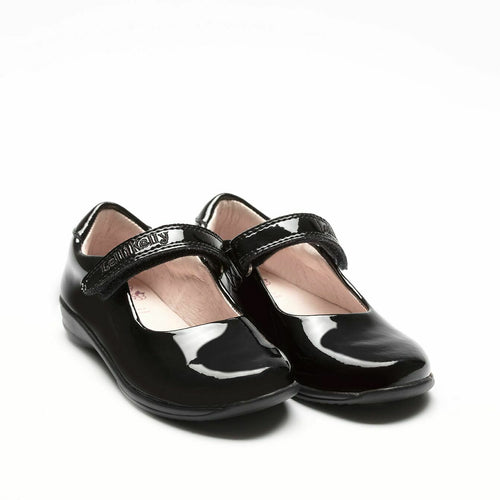 Lelli Kelly CLASSIC LK8218 Girl's Black Patent School Shoe