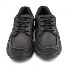 Load image into Gallery viewer, Start-rite Rhino DYLAN Boy's Black Leather Lace Up School Shoe