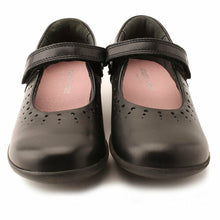 Load image into Gallery viewer, Start-rite MARY JANE Black Leather School Shoe