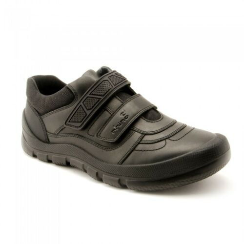 Start-rite Rhino WARRIOR Boy's Black Leather School Shoe