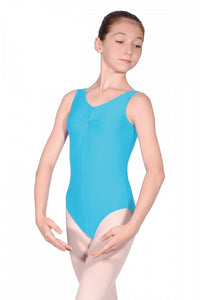 Roch Valley SHEREE Nylon/Lycra Sleeveless Leotard With Ruche