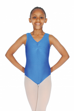Load image into Gallery viewer, Roch Valley SHEREE Nylon/Lycra Sleeveless Leotard With Ruche