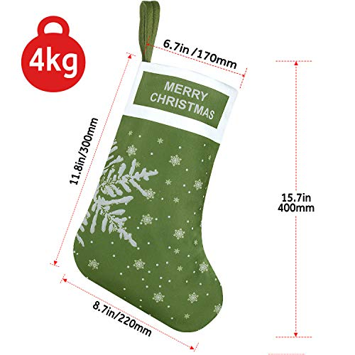 EasyAcc Christmas Stockings -Snowflake