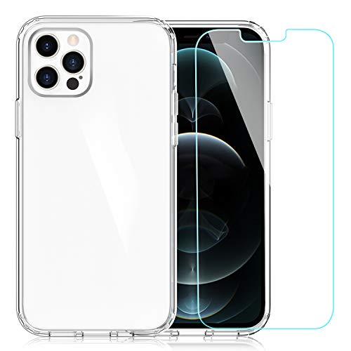 EasyAcc Case for iPhone 12 Pro -Clear
