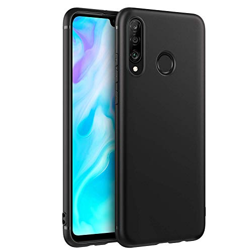 EasyAcc Black TPU Case with Matte Finish for Huawei P30 Lite