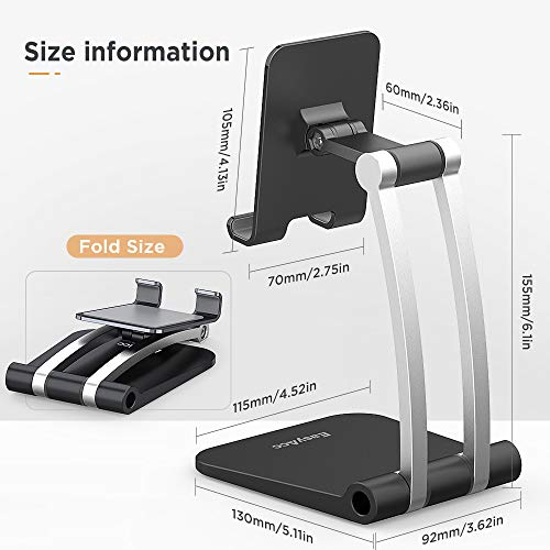 EasyAcc Adjustable Cell Phone/Tablet Stand