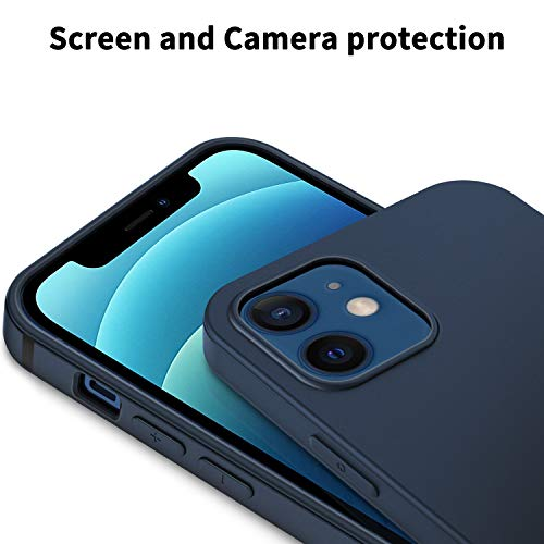 EasyAcc Slim Case for iPhone 12/12 Pro - Dark Blue