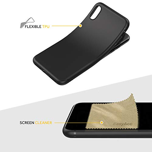EasyAcc Black TPU Case with Matte Finish for iPhone XS Max