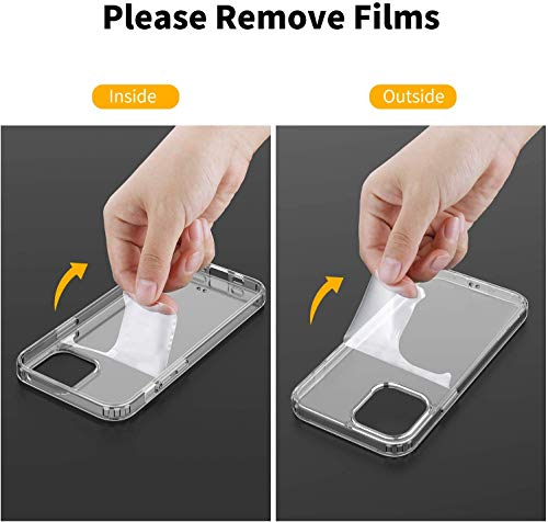 EasyAcc Clear Case for iPhone 12 Pro Max-  Screen Protector