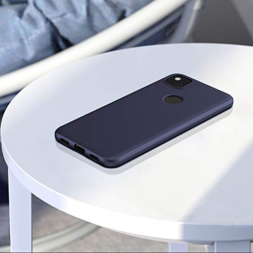 EasyAcc Slim Case for Google Pixel 4a(Not for 4a 5G) - Navy Blue