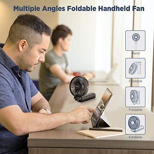 EasyAcc 3350mAh 2020 Upgraded Handheld Fan
