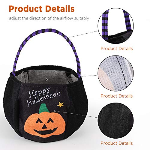 EasyAcc Halloween Candy Tote Bag -4 Pieces