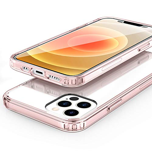 EasyAcc Case for iPhone 12 Pro -Pink Frame