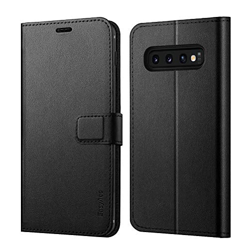 EasyAcc PU Leather Wallet Case for Samsung Galaxy S10