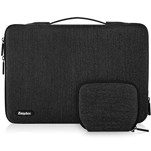 EasyAcc Laptop Sleeve for Macbook Air, Pro Retina and Most 13.3″ Laptops -Dark Grey