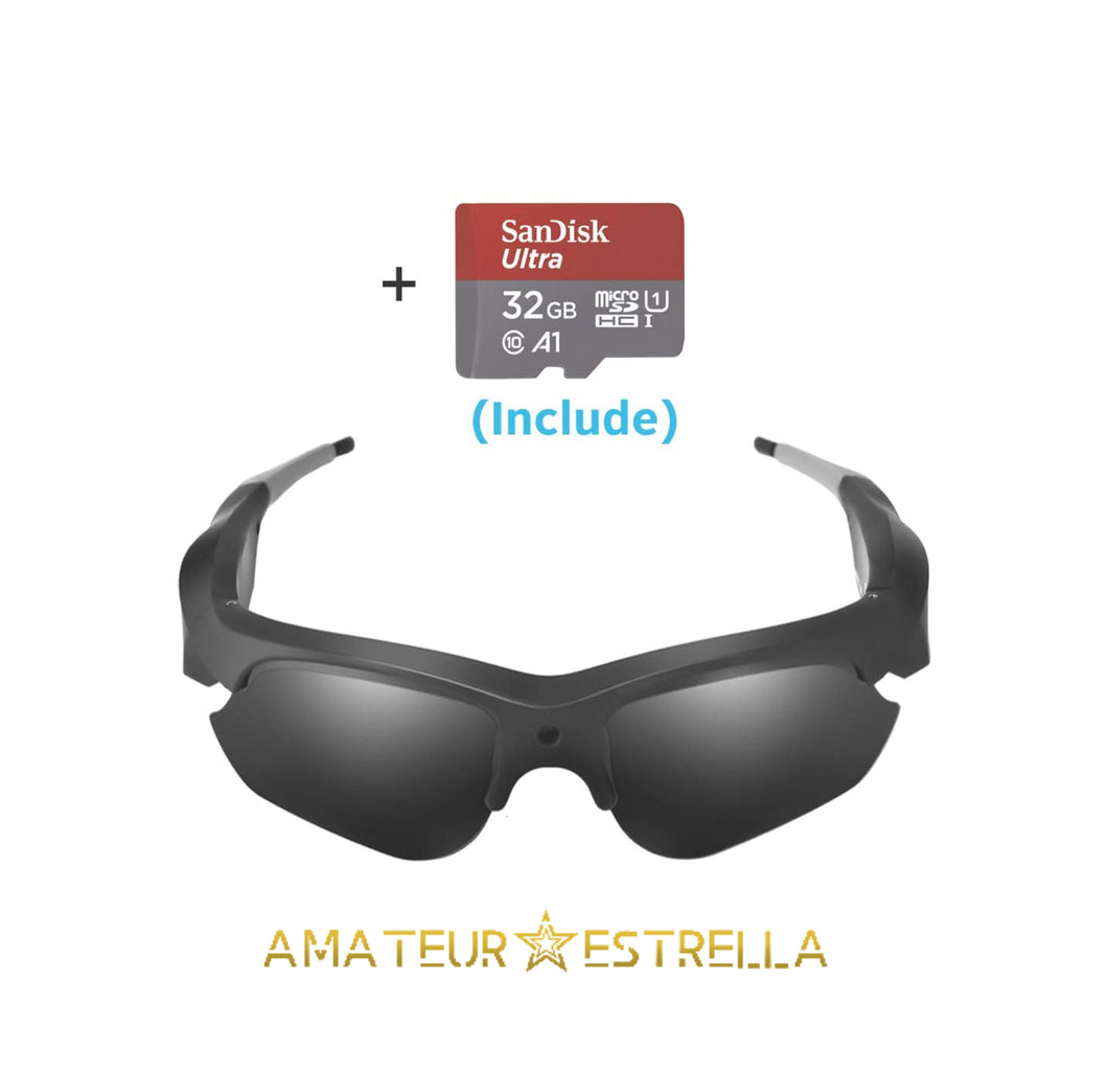 Estrella HD 1080p Recording Glasses