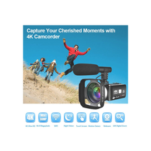 Load image into Gallery viewer, Estrella UHD 4K Video recording cam with microphone