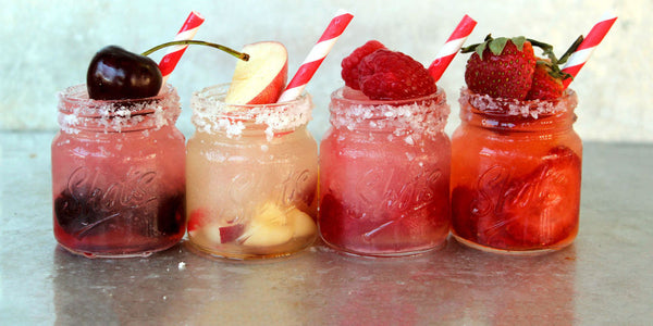 Fruity Margarita Slushie Flight