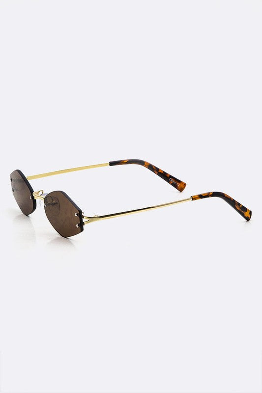 Ray Rimless Sunglasses