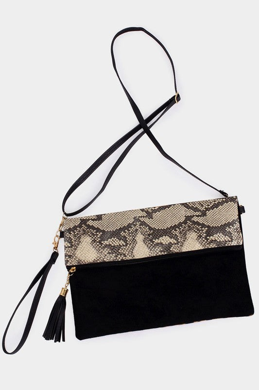 Python Crossbody Purse