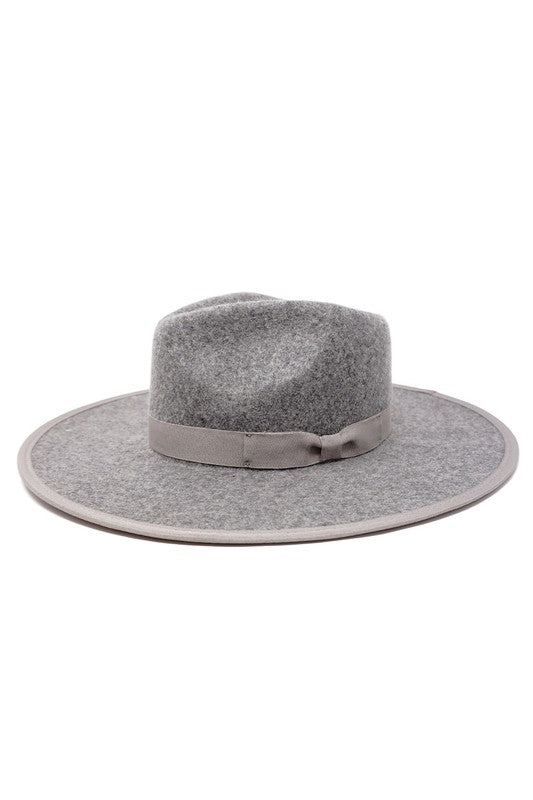 Barry Fedora Hat- Grey