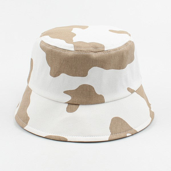 Moo Moo Bucket Hat - Brown