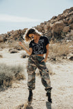 VINTAGE CAMO PANTS - Trendy and Tipsy