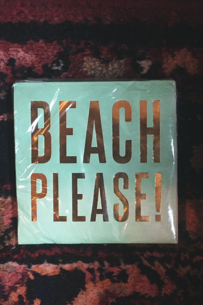 Beach Please Napkin