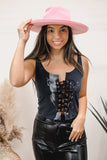 Beer Double Sided Black Chain Tank