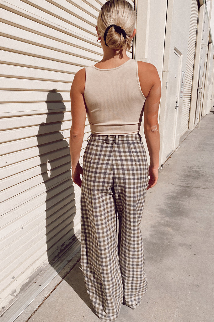 Motel Rocks Yeva Trouser- Plaid