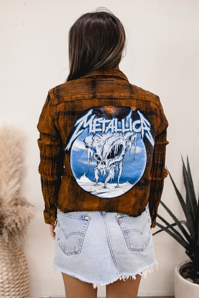 Band Tee Flannel