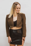 Reworked Vintage Crop Blazer #5