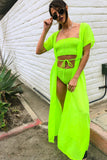 Playa Duster in Neon Green