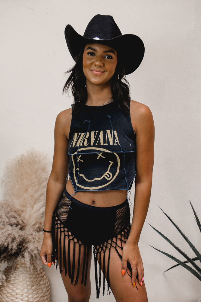 Midnight Velvet Dress - Trendy and Tipsy