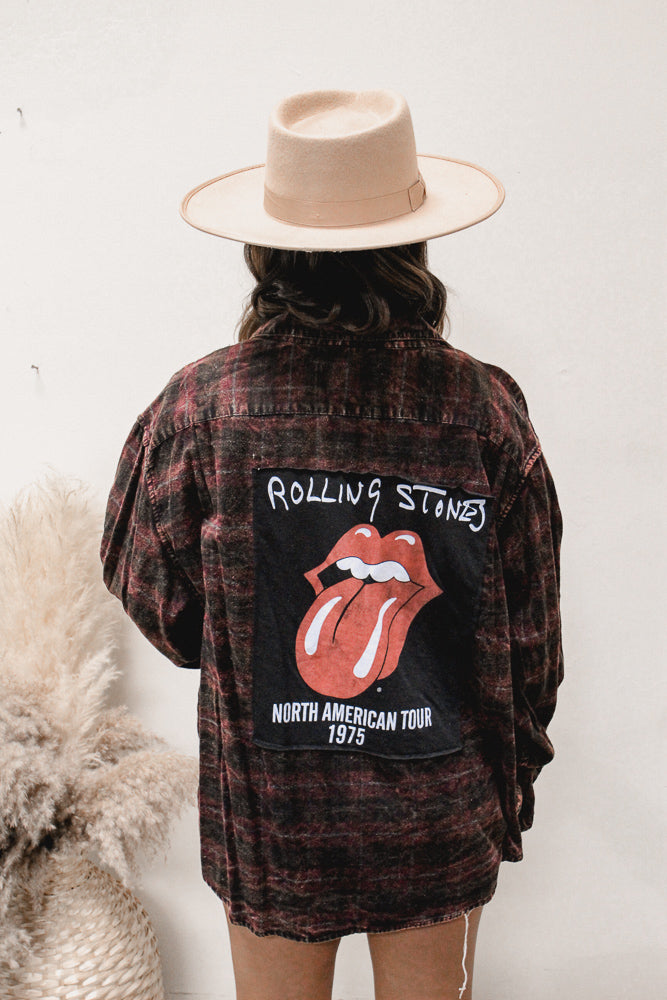 Led Zeppelin Distressed Chambray
