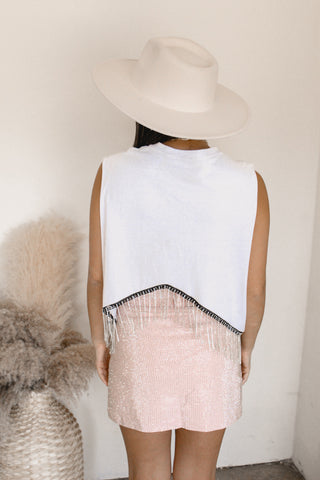 Siobhan Puff Sleeve Crop