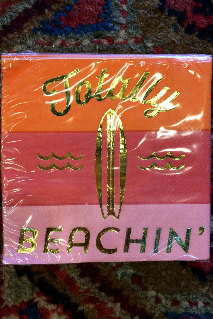 Totally Beachin Napkin - Trendy and Tipsy
