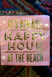 Happy Hour Beach Napkin