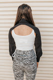 Cut Out Sweater- Ivory