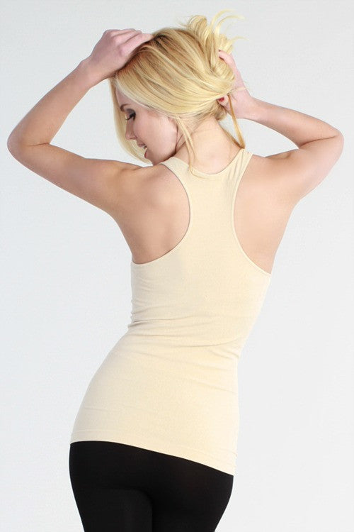 B123 Seamless Racerback Cami - Multiple Colors - Bungalow 123 - 1