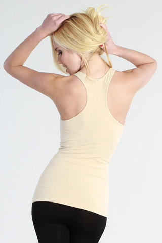 B123 Seamless Racerback Cami - Multiple Colors - Final Sale Item