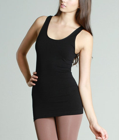 B123 Seamless Wide-Strap Tank - Multiple Colors