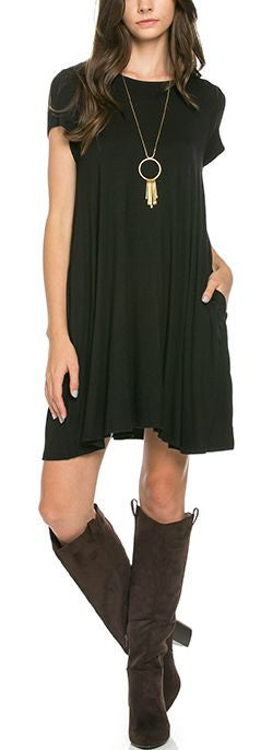 Carolina Dress - Black - Bungalow 123 - 1