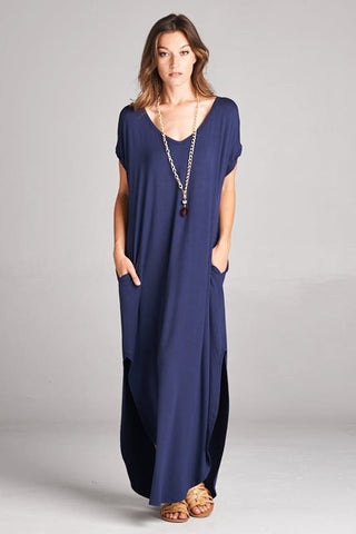 Tillie Maxi Dress - Navy