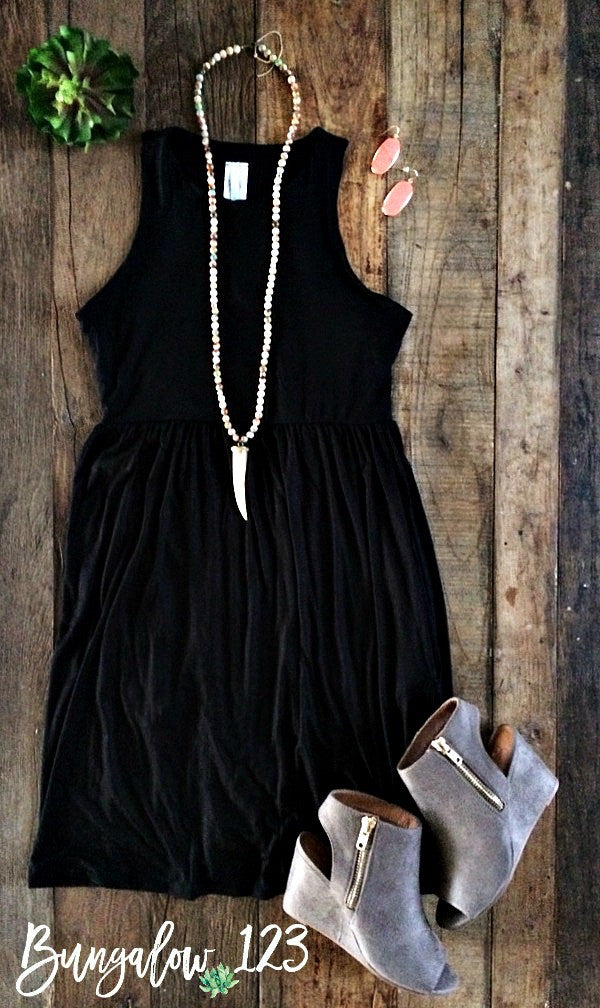 Carlyle Dress - Black - Bungalow 123 - 1