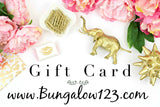 B123 Gift Card - Bungalow 123 - 2