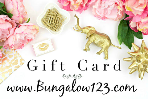 Bungalow 123 Gift Card