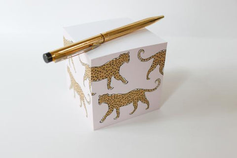CB Leopard Sticky Notes