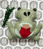 Tooth Fairy Pillow - Frog